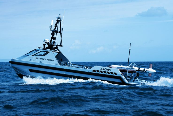 Northrop Grumman Demonstrates Landmark Unmanned Mine-hunting Capabilities During Belgium North Sea Unmanned MCM Trials