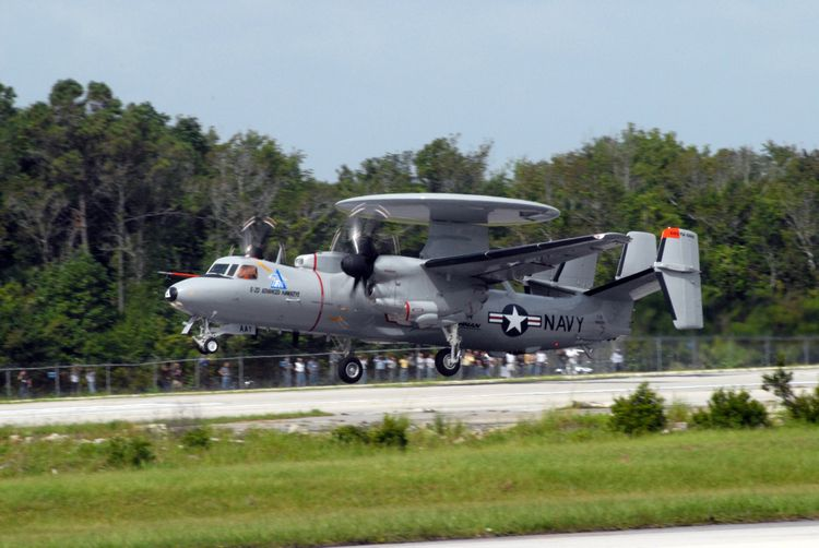 Ten Years Ago the E-2D Advanced Hawkeye Made its First Flight from St. Augustine, Florida