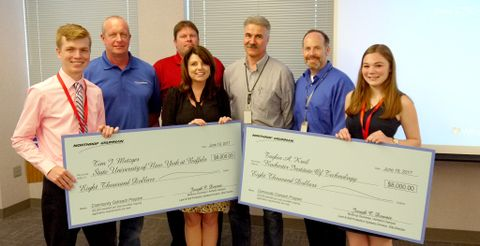 Northrop Grumman Awards Engineering Scholarships to Students from Western New York
