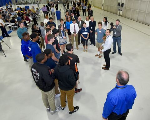 Northrop Grumman Celebrates Manufacturing Day with Maryland Governor, Senators and STEM Students