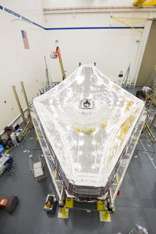 Sunshield Deployment and Layers Fully Tensioned on NASA's James Webb Space Telescope