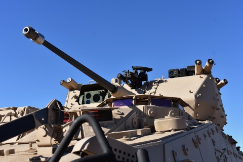 Orbital ATK's MK44 Bushmaster Chain Gun is easily integrated into various turrets and weapons statio ...