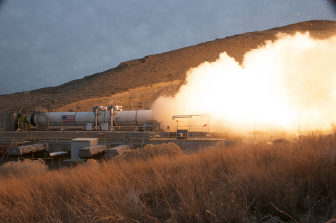 NASA's and Orbital ATK's successful test of Qualification Motor 1 (QM-1) is an important milestone i ...