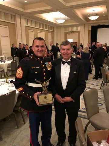 Orbital ATK Congratulates Winner of 2018 Marine Corps Aviation Association Award