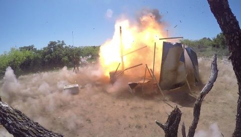 Orbital ATK Successfully Demonstrates New Advanced Missile Warhead for High Temperatures and Velocities