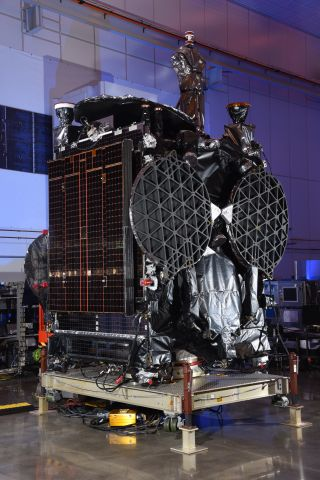 Orbital ATK-Built GovSat-1 Multi-Mission Satellite Successfully Launched