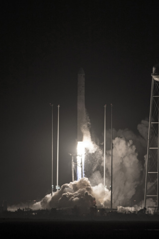 Orbital ATK's Antares rocket launched the Company's Cygnus spacecraft carrying about 7,400 pounds of ...