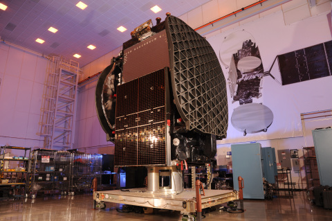 The THAICOM 8 commercial communications satellite was shipped to the Cape Canaveral, Florida launch  ...