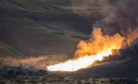 Orbital ATK successfully conducted the QM-2 test of its solid rocket booster for NASA's Space Launch ...