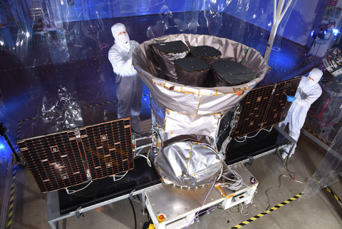 The Transiting Exoplanet Survey Satellite (TESS) was built at Orbital ATK's Dulles, Virginia, facili ...