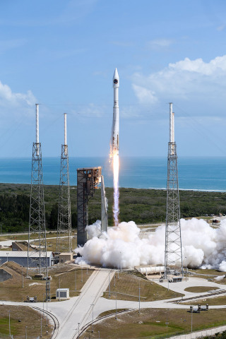 Orbital ATK   s    S.S. John Glenn    Cygnus spacecraft successfully launches aboard a United Launch Allia ...