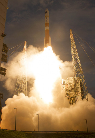 Orbital ATK provided propulsion, composite and spacecraft technologies to enable the successful laun ...