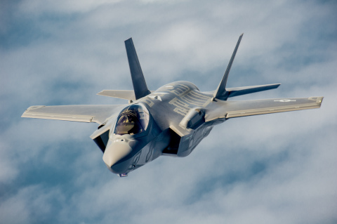 An initial Lockheed Martin $24 million three-year contract for additional F-35 composite components  ...