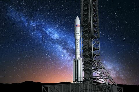 OMEGA: Orbital ATK's New Large-Class Rocket for U.S. Air Force