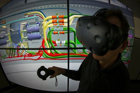 Designing the Future: Virtual Reality and Rocket Development