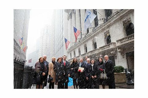 Orbital ATK Executives Ring the NYSE Closing Bell