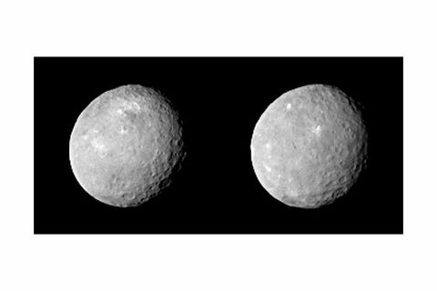 Latest Images from Dawn Reveal Craters and Bright Spots on Ceres