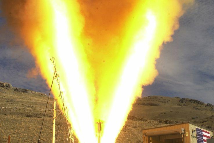 Orion Launch Abort Motor
