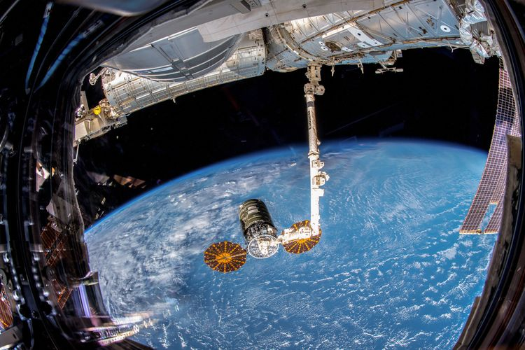 Northrop Grumman Cargo Resupply Spacecraft Now Docked at International Space Station  Berthing Completed on Nov. 19_2
