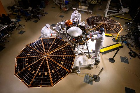 Northrop Grumman Technologies Support NASA's InSight Mars Lander