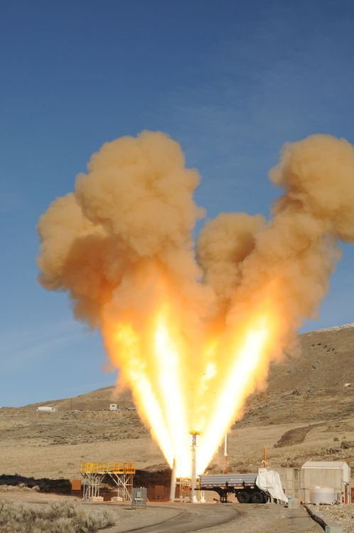 Northrop Grumman Successfully Tests Orion Spacecrafts Launch Abort Motor