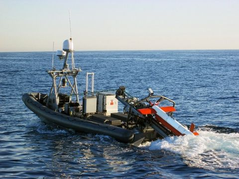 Northrop Grumman Demonstrates AQS-24B Mine Hunting and Undersea Surveillance Capability at Autonomous Warrior 2018 Jervis Bay Australia