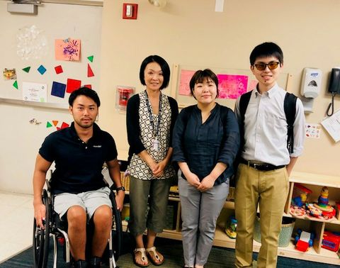 Northrop Grumman Sponsors Japanese Trainees at TOMODACHI Disability Leadership Program in America