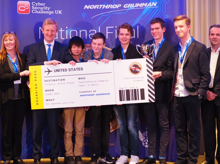 Northrop Grumman Announces Winners of 2018 CyberCenturion Competition to Find Diverse Cyber Security Talent of the Future