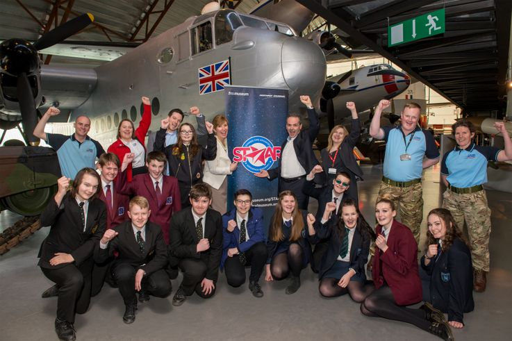 Northrop Grumman Launches STAAR Aerospace STEM Summer Camp for Students in the UK