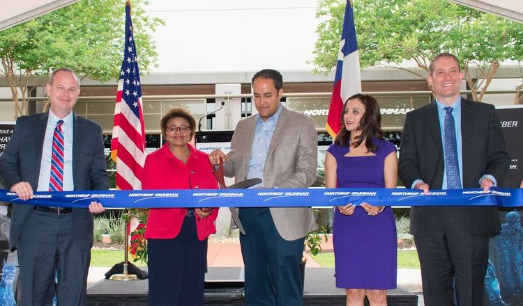 Northrop Grumman San Antonio Cyber Center Celebrates Opening with Ribbon Cutting and Reception