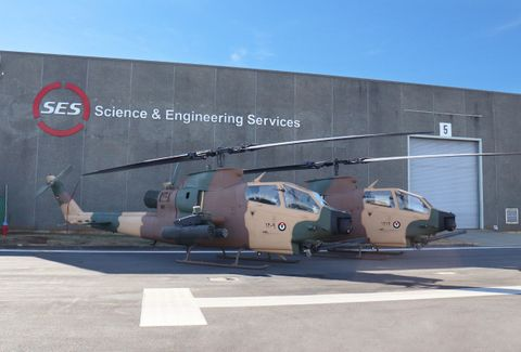 Royal Jordanian Air Force Helicopters Upgraded by Science and Engineering Services LLC and Northrop Grumman Begin Flight Testing 1
