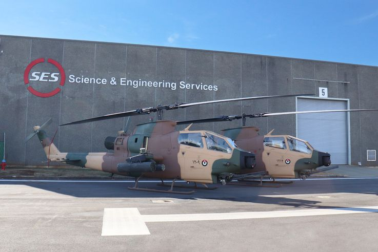 Royal Jordanian Air Force Helicopters Upgraded by Science and Engineering Services, LLC and Northrop Grumman Begin Flight Testing