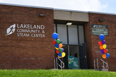 Northrop Grumman Foundation Celebrates Grand Opening of Lakeland Community _ STEAM Center with UMBC and Baltimore City  1