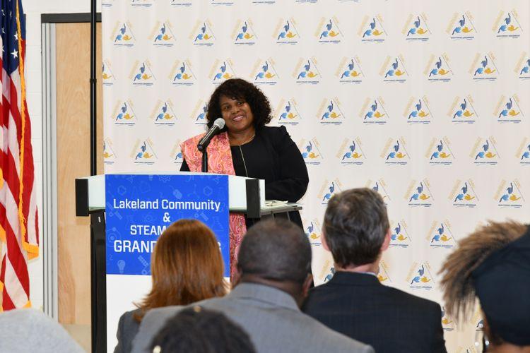 Northrop Grumman Foundation Celebrates Grand Opening of Lakeland Community _ STEAM Center with UMBC and Baltimore City 2