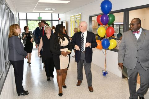 Northrop Grumman Foundation Celebrates Grand Opening of Lakeland Community _ STEAM Center with UMBC and Baltimore City 3