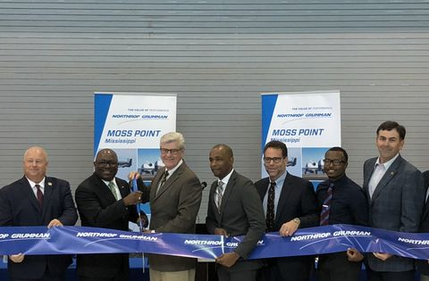 Northrop Grumman Expands Moss Point, Mississippi Facility, Announces New Manufacturing Jobs