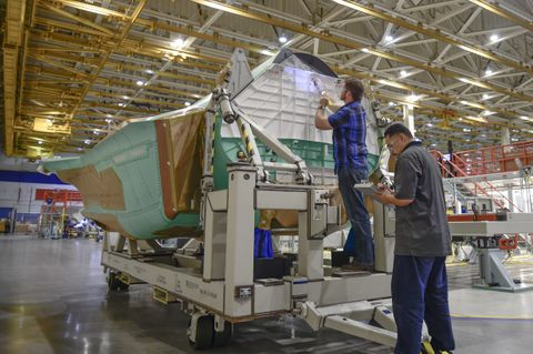 Northrop Grumman Begins Full-Rate Production of F-35 Lightning II Center Fuselage