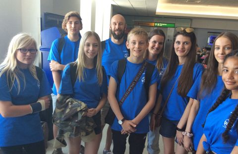 Northrop Grumman Foundation Supports Students and Teachers from the U.K. to Attend Space Camp® in U.S.
