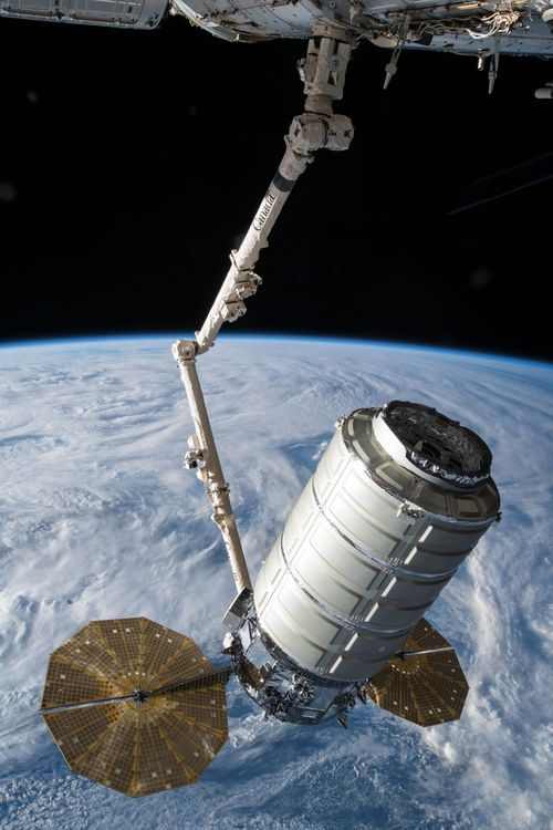 Northrop Grummans Cygnus Spacecraft Begins Secondary Mission in Space