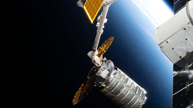 Northrop Grummans Cygnus Spacecraft Successfully Concludes Ninth Cargo Supply Mission to the International Space Station