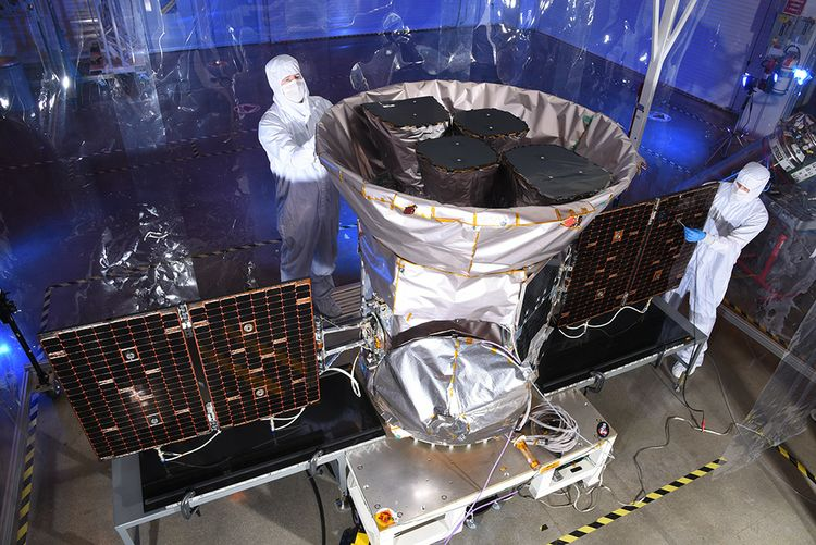 Northrop Grumman-Built and Operated Planet-Seeking Spacecraft Begins Multi-Year Mission