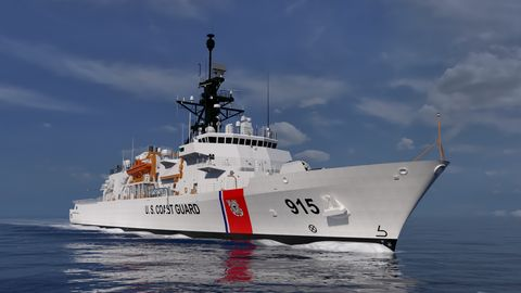 Northrop Grumman Supports Final Critical Design Review for the USCG Offshore Patrol Cutter