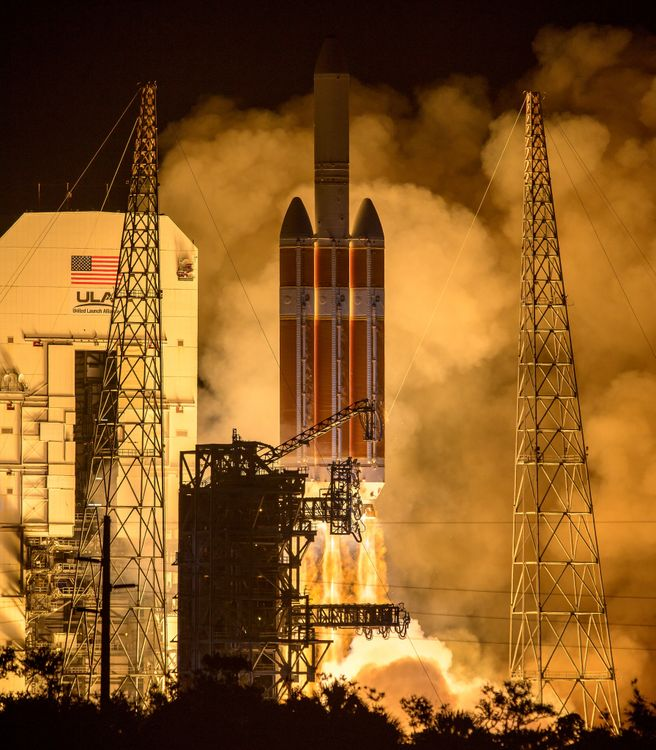 Northrop Grumman Technologies Lift NASA's Parker Solar Probe on Mission to the Sun