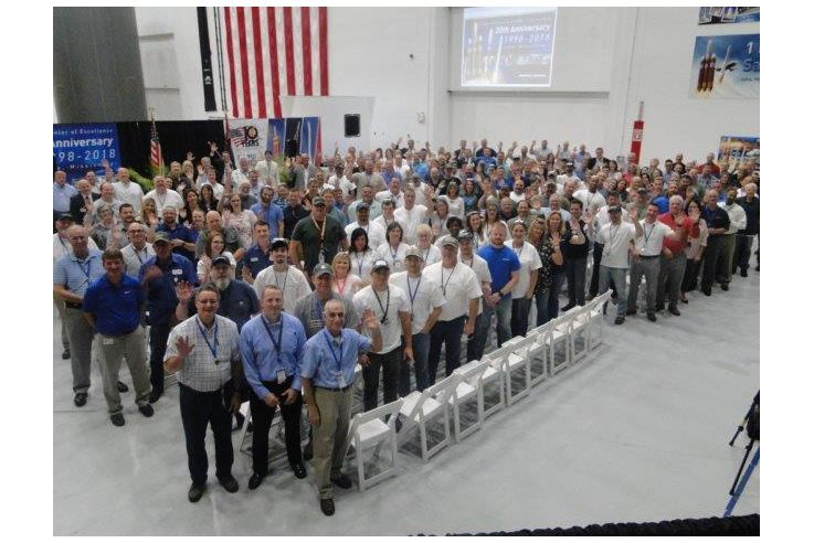 Northrop Grumman Celebrates 20 Years in Iuka, Mississippi