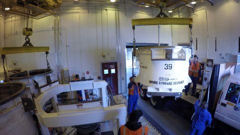 Northrop Grumman Completes First Live Motor Cast for OmegA Rocket