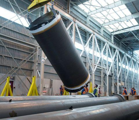 Northrop Grumman Completes First Live Motor Cast for OmegA Rocket_2
