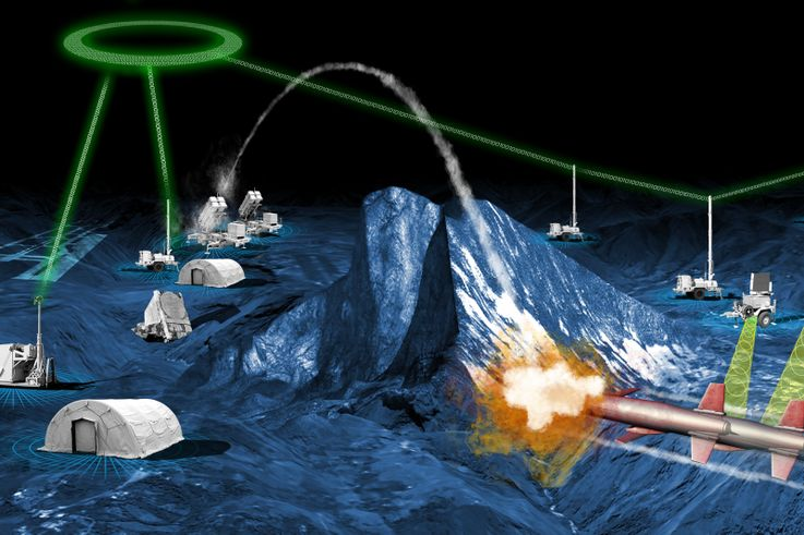 Northrop Grumman Integrated Air and Missile Defense Battle Command System Pairs with Sensors and Shooters for 'Live Air' Test