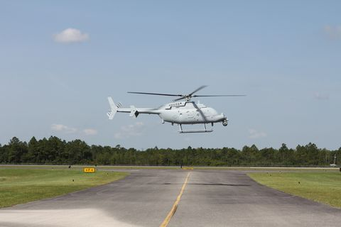 Northrop Grumman Begins MQ-8C Fire Scout Flight Tests in Moss Point Miss.