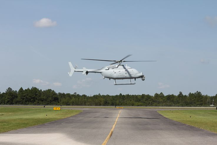 Northrop Grumman Begins MQ-8C Fire Scout Flight Tests in Moss Point, Miss.