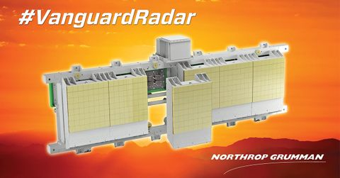 Northrop Grumman Unveils Vanguard Open Architecture Radar Solution